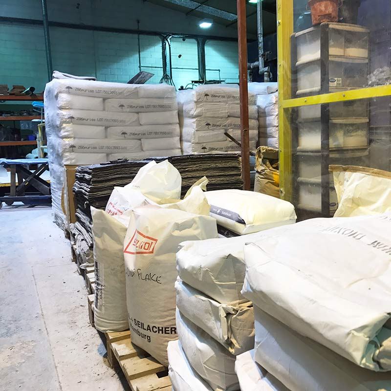 Recovery Rollers Compound Raw Materials