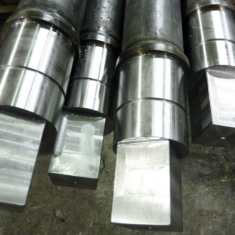 Recovery Rollers Engineering Roller Shafts Completed