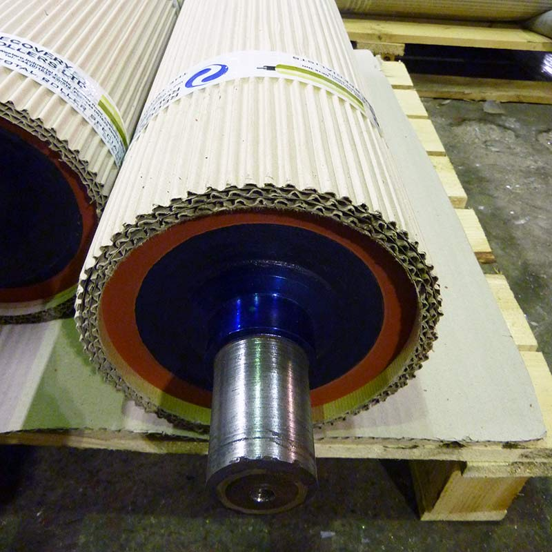 Recovery Rollers Rubber Roller Finished Roller Packed